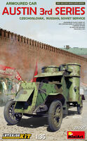 Austin Armoured Car 3rd Series: Czechoslovak, Russian, Soviet Service with Interior Kit
