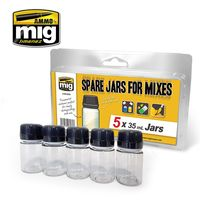 SPARE JARS FOR MIXES 5 x 35 ml - Image 1