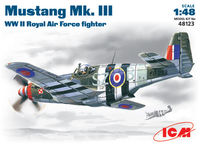 Mustang Mk .VIII WWII RAF  fighter - Image 1