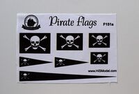 Pirate flags - set type A