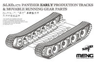 Sd.Kfz.171 Panther Early Production Tracks & Movable Running Gear Parts