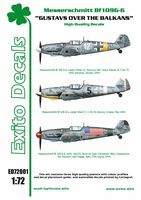 Decals Gustavs Over The Balkans - Messerschmitt Bf109G-6