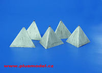 Anti-tank Concrete Barriers - Pyramid-style, Set I