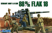 German Army A/A Gun 88 m/m FLAK 18
