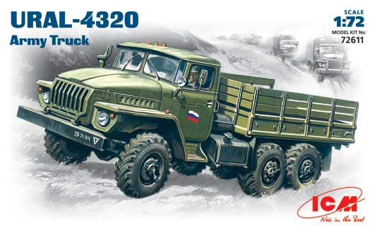 URAL-4320 Army Truck - Image 1