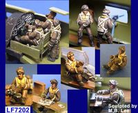 B-17 Flying Fortress Crew set 10 Figures