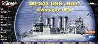 American Destroyer USS Noa (DD-343) April 1940