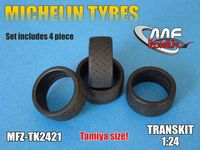 Michelin tyres 4 pieces - Image 1