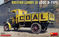 British Lorry 3T LGOC B-Type