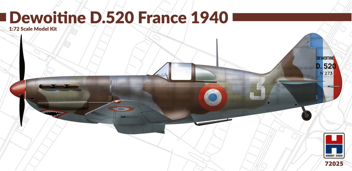 Dewoitine D.520 France 1940 - Image 1