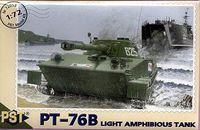 PT-76b. light amphibious tank