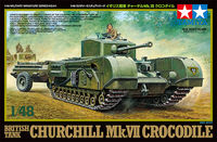 British Tank Churchill Mk.VII - Crocodile