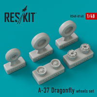 A-37 Dragonfly wheels set