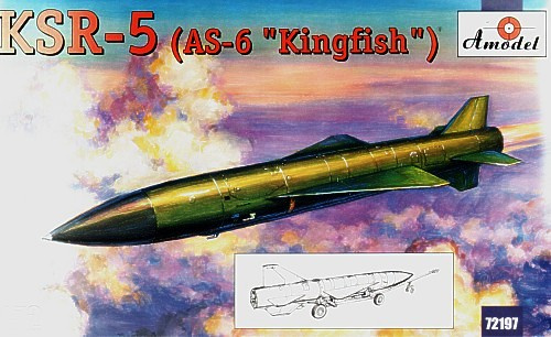 Raduga KSR-5 (AS-6 Kingfish) Soviet Long-Range Air Launched Cruise Missile and Anti Ship Missile - Image 1