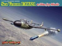 de Havilland Sea Venom FAW.21 with Blue Jay Missile