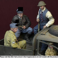 """Under guard"" Battle of Britain 1940 3 figures set"