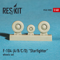 "Lockheed F-104 A/B/C/D ""Starfighter"" wheels set - Image 1"