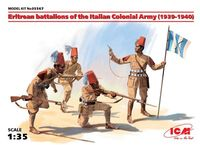 Eritrean battalions of the Italian Colonial Army (1939-1940) (4 figures)
