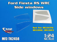 Ford Fiesta RS WRC / s2000 - Side windows for BELKITS - Image 1