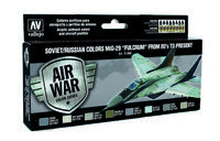 71605 Air War Color Series - Soviet/Russian Colors MiG-29 Fulcrum from 80s to present