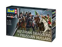 Seven Years War AUSTRIAN DRAGOONS + PRUSSIAN HUSSARS - Image 1
