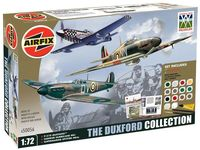 The Duxford Collection Gift Set (P-51D Mustang,Hawker Hurricane MkI and Supermarine Spitfire MkIa)