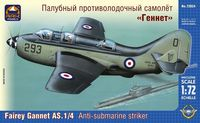 "British carrier-borne anti-submarine striker Fairey ""Gannet"" AS.1/4"
