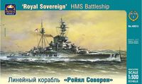 "HMS Battleship ""Royal Sovereign"""