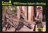 WWII German Infantry Marching