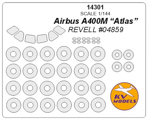 "Airbus A400M ""Atlas"" (REVELL) + wheels masks - Image 1"
