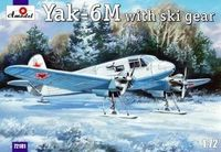 Yakovlev Yak-6M with Ski Gear (in camouflage)