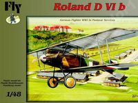 German fighter Roland D VIb - Image 1