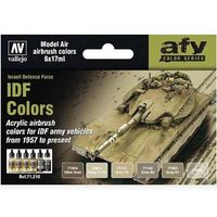 71210 AFV Color Series - IDF Colors set