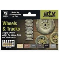 71213 AFV Color Series - Wheels & Trucks set