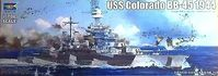 USS Colorado BB-45 Battleship 1944