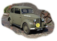 British Staff Car Forlite Saloon 8HP Model 1939 - Image 1