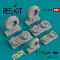 A-3 Skywarrior wheels set