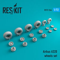 A320 wheels set
