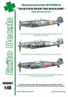 Decals Gustavs Over The Balkans - Messerschmitt Bf109G-6 1/48