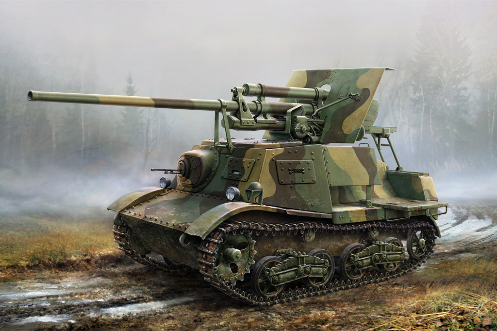 MRR35202 *Mirror 1:35 Russian ZiS-30 self-propelled anti-tank gun