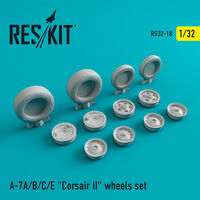 "A-7 ""Corsair II""A/B/C/E wheels set"