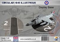 Circular 1:48 HMS Illustrious 200mm - Image 1