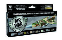 71606 Air War Color Series - Soviet/Russian Colors MiG-23 Flogger from 70s to 90s