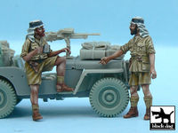 British SAS Jeep Crew Afrika (2 figures) for Tamiya kits - Image 1