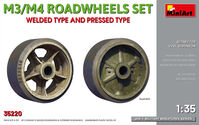 M3/M4 Roadwheels set welded type and pressed type - Image 1