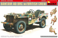 Bantam 40 BRC w/British crew (3 figures included) Special Edition