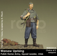 Warsaw Uprising Polish Home Army,Squad Leader, 1944 - Image 1