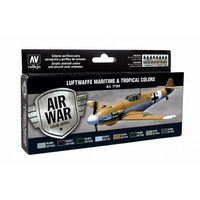 71164 Air War Color Series - Luftwaffe Maritime & Tropical Colors Set