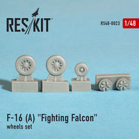 "General Dynamics F-16 A ""Fighting Falcon"" wheels set - Image 1"