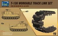 T-136 Workable Track link Set for M108/M109 A1-A5 SPH - Image 1